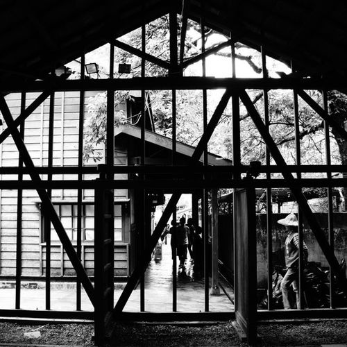 Conservationbuildings Architecture Yilan Taiwan black&white