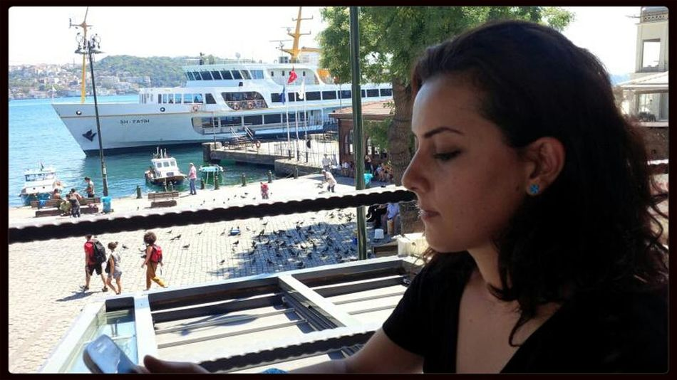 Hanging Out Thinking Istanbul - Bosphorus
