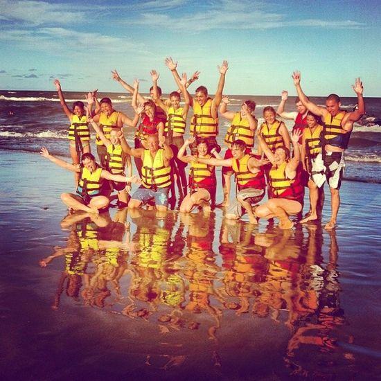 Beach Playa Santateresita Banana grupo miedo diversion happymoment love vacaciones @emadominguez me marzo