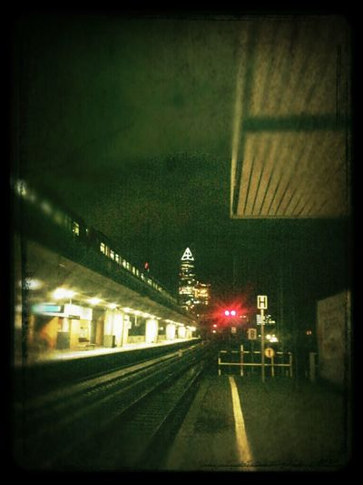 Skyline Photo Photography Frankfurt Am Main Railway