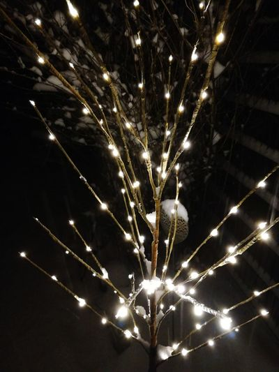 LED Snow ❄ Celebration Firework Display Firework - Man Made Object Exploding Arts Culture And Entertainment Illuminated Outdoors