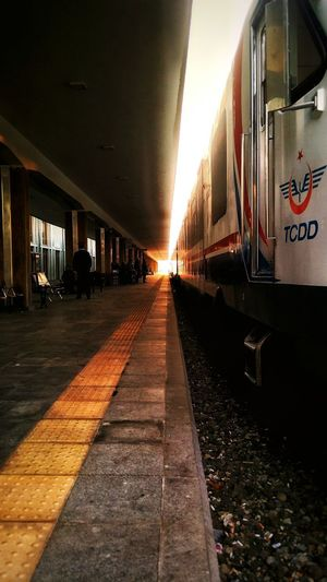Trainstation TCDD Infinity ∞ Light In The Darkness