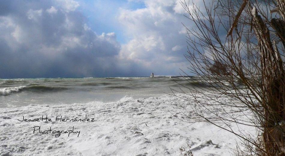 Snow ❄ Ice Lake Cold