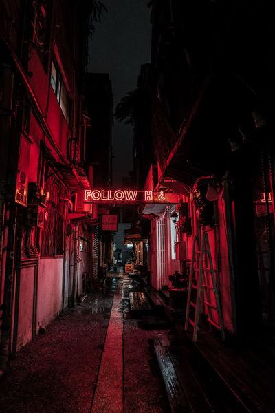 Night Lights Nightphotography Red Red Light District Alleyway Of Taiwan Alleyways Everybodystreet Fujifilm Fujiholics Moody Nightlife Red Light Urbanphotography Urbex Urbexexplorer