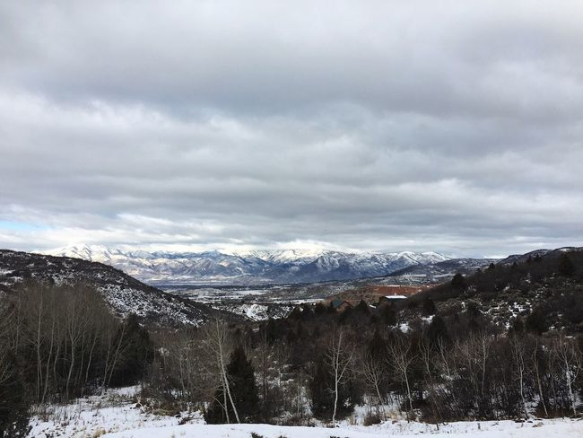 this morning we had some cloud cover. Wasatch Back Wasatch County Snow Winter Cold Temperature Weather Mountain Nature Beauty In Nature