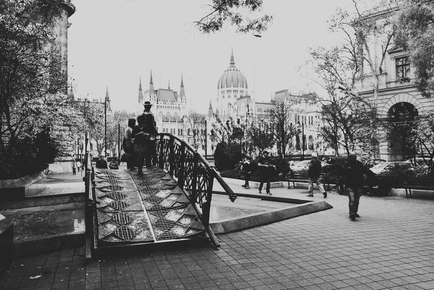 Shot in Kossuth Lajos Square, Budapest Hungary. Architecture Architecture Black And White Budapest Budapest, Hungary Budapestagram City City City Life Famous Place Historic Nik Collection Nikon NikonD5200 Nikonphotography Parliament People Peoplephotography Photoshop Streetphotography Travel Travel Destinations