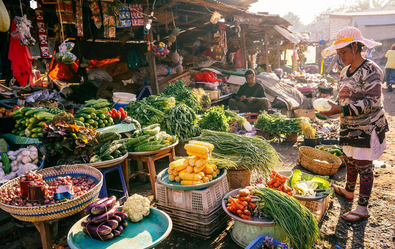Street Photography Kupang traditional market, Indonesia