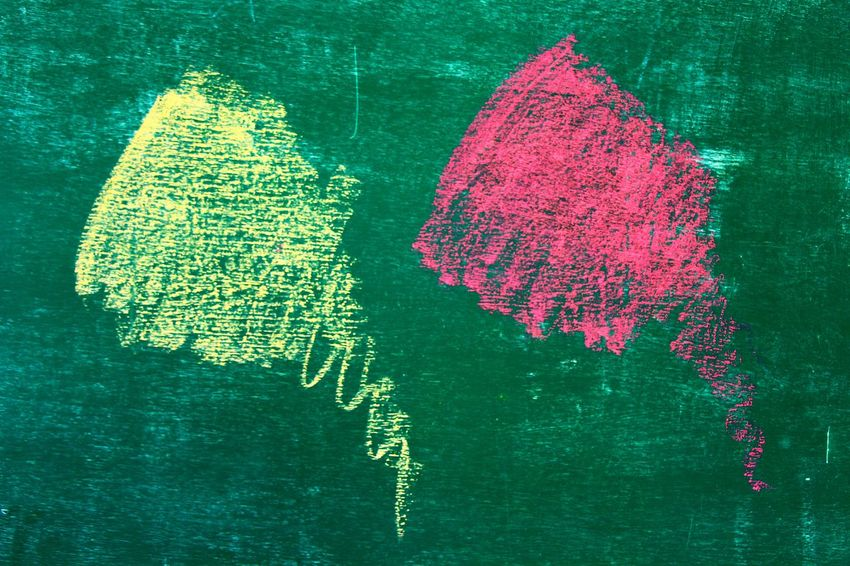 Green Color Close-up No People Blackboard  Indoors  Day Texture Chalk Board Chalk Chalk Drawing studen Techer School Pink Yellow