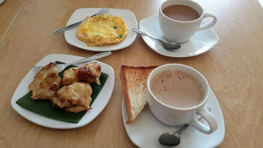 breakfast at Kopi Pong cafe Gading Serpong First Eyeem Photo