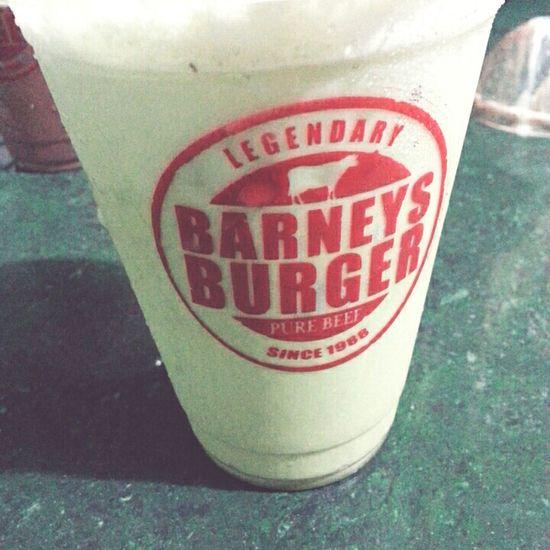 Matcha Milkshake Burger Foodtrip Snack