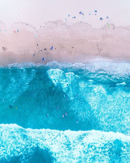 Cronulla Beach Blue Nature Water Day Motion Beauty In Nature Swimming Pool No People Outdoors Close-up Sky Sydney Drone  Aerial View Beach Ocean Sea Tropical