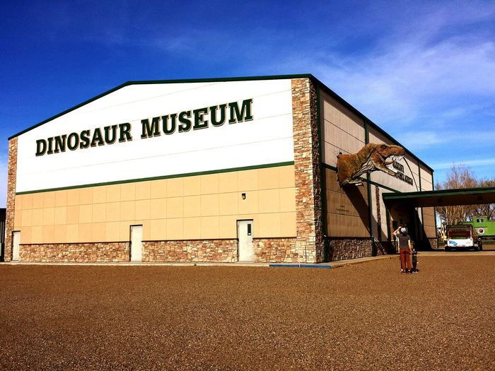 Dinosaur Museum!!😀 Closed 😕Oh Well Maybe Next Time My American Road Trip Oh, The Places We've Been Glendive Montana Dinosaur Museum Fueling The Imagination Tyrannosaurus Rex Dinosaur 43 Golden Moments Museum Mobile Photography Building Exterior Building And Sky Travel Photography Architecture Roadside America The Following T Rex  Road Trip Shootermag The Architect - 2016 EyeEm Awards The Street Photographer - 2016 EyeEm Awards