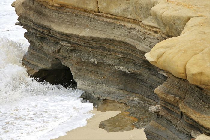 Beach Photography Been There. Daytime La Jolla Beach La Jolla, California Nature San Diego Sunny Beach Beauty In Nature Been There, Done That Geology La Jolla Nature No People Ocean Outdoors Physical Geography Power In Nature Rock - Object Rock Formation Travel Destinations Waves Waves And Rocks Waves Crashing On Rocks