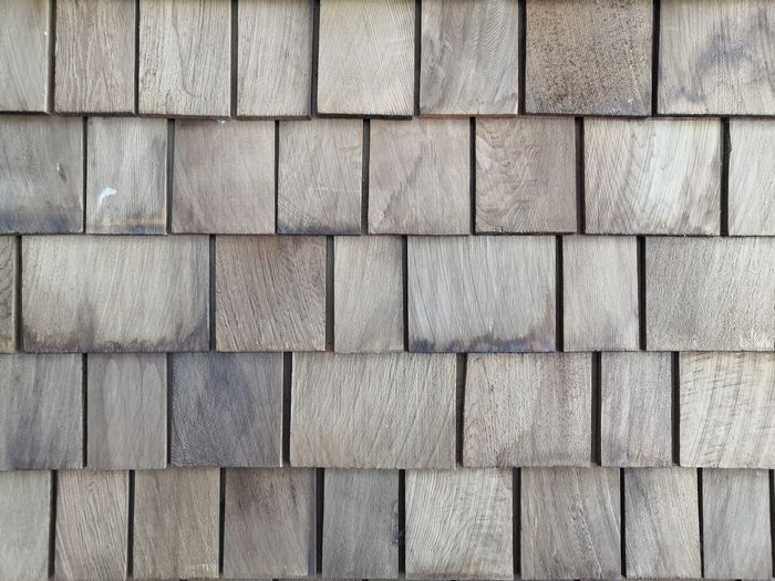 Wood Backgrounds Full Frame Textured  Stone Tile Pattern Close-up Ground Block Woodpile