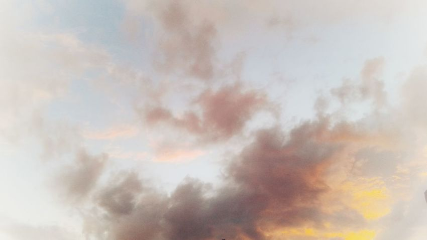 VAN GOGH LOOKED FOR SOME YELLOW WHEN THE SUN DISAPPEARED Sunlight Sun Sunshine Skyscape Blue Sky Clouds And Sky Yellow Textured  Atmospheric Mood Painting Photography Van Gogh William Blake Sunset Sky Only Pastel Colored Blue Abstract Cloudscape Weather Dramatic Sky Sunrise