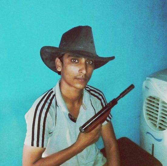 Kasim Mature Adult Hat One Man Only Cowboy Hat Portrait Adult One Person Cowboy Adults Only Wild West People Looking At Camera Only Men Men Musician Young Adult Weapon Day First Eyeem Photo
