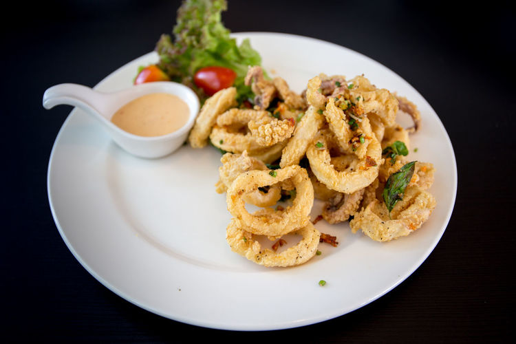 Fried squid -