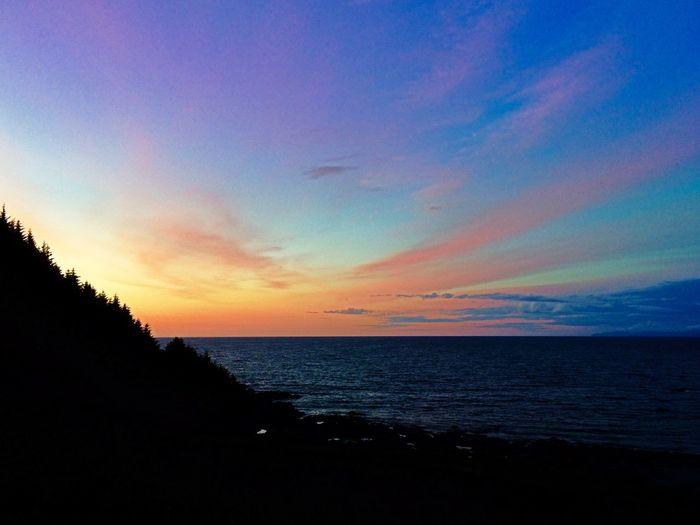 Sunset at Goksøyra Getting Some Rest Runde Sunset Norway