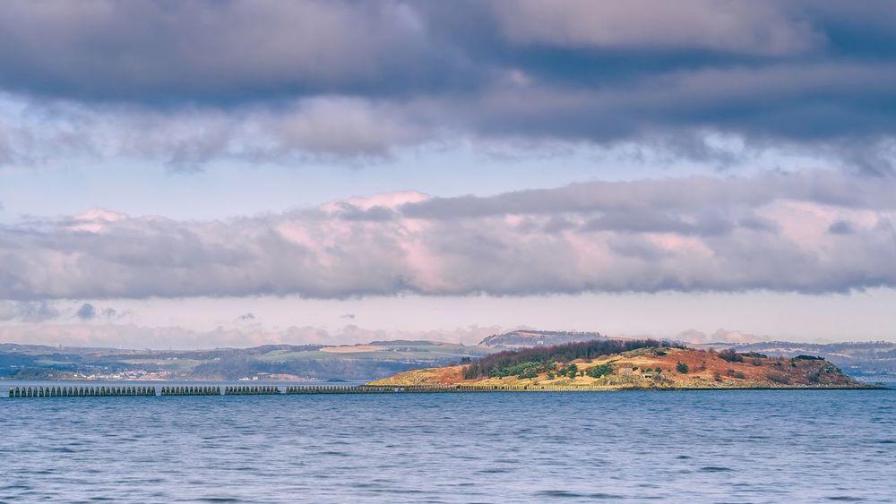 Cramond Island Edinburgh Cramond Cramondisland Scotland FirthOfForth Seaside Island Water Sky Clouds Cloud - Sky Scenics Landscape Outdoors No People