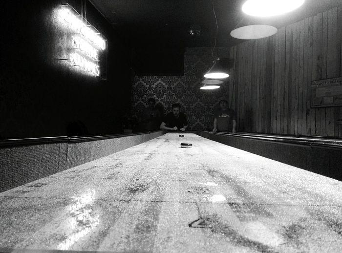 Day 294 - Shuffle board Berlin Blackandwhite Shuffleboard 365project 365florianmski Day294