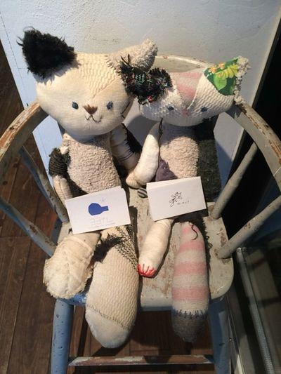 Toy Animal Cafe Cat Indoors  Seat Softness Plushdoll