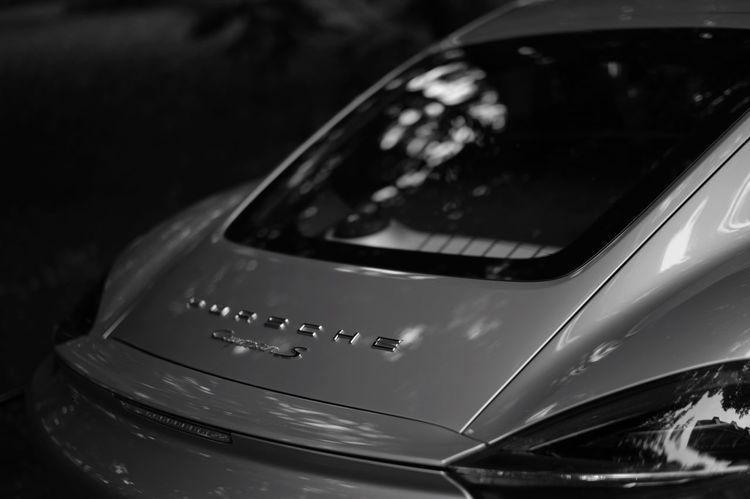 PORSCHE Cayman S Blackandwhite Monochrome Car Porche
