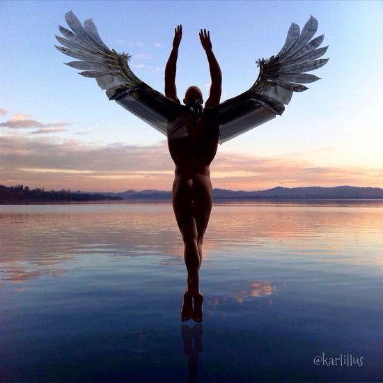 ESPIRITU LIBRE ---- FREE SPIRIT ---- Somosfelices Vanishing Point Human Nature Love Water Reflections