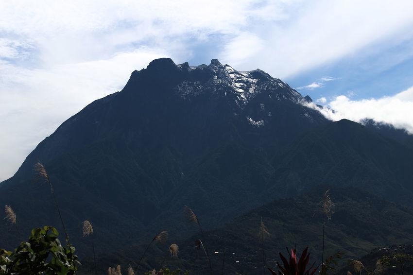 Cool Nature Blue Cold Temperature Malaysia Mountain Sabah Sky