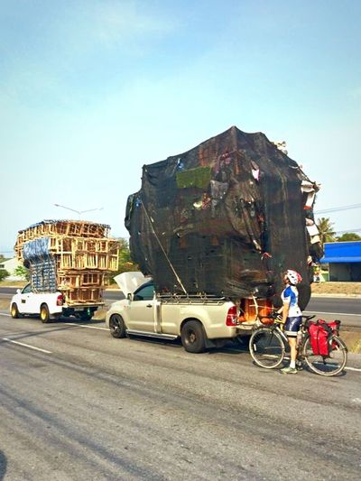 Moving, Thai style! Celebrate Your Ride Cycling Hanoi To Singapore Thailand Piled Up
