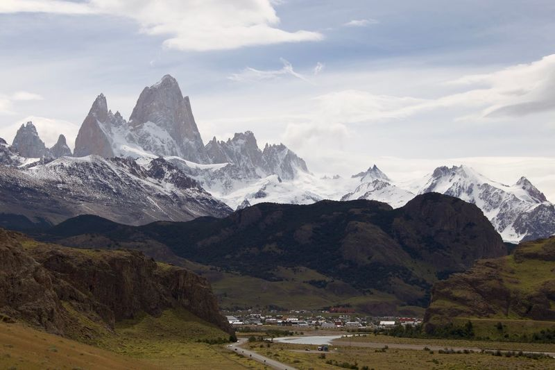 Fitz Roy Fitz Roy Patagonia Mountain Sky Beauty In Nature Scenics - Nature Mountain Range Cloud - Sky Nature