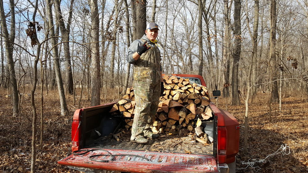 Stacking One Person Adults Only Outdoors Day Young Adult Wood Firewood Stacked Rows Cold Temperature