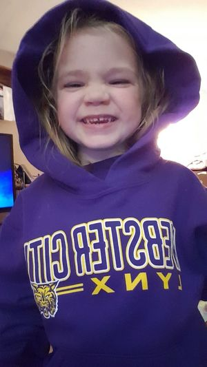 Casual Clothing Football Front View Homecoming Homecoming 2016 Iowa Looking At Camera Lynx Person Portrait Preschool Age Preschooler Pride School School Pride Three Year Old Webster City Webster City Iowa Webster City Lynx