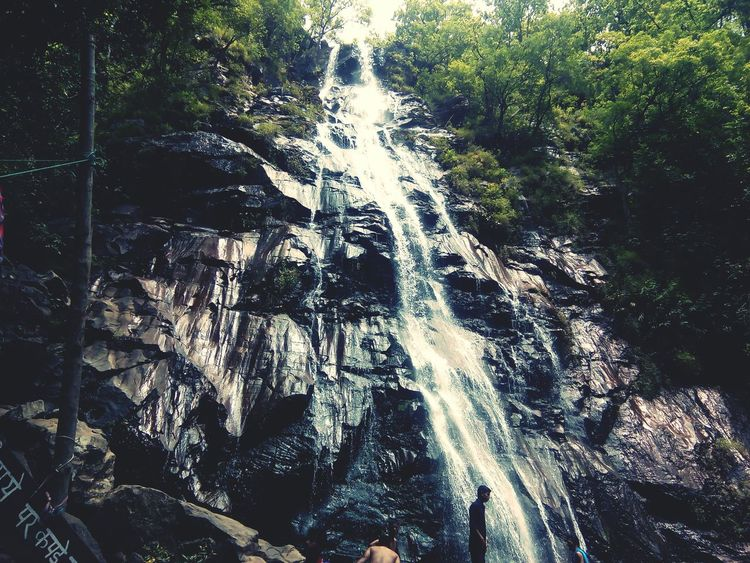 Waterfall Pachmarhi Traveling 8megapixel India Sound Of Water Sound Of Life