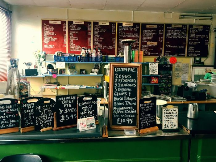 Text Store Indoors  Retail  Choice Variation Shelf Consumerism No People Day Blackboard  Supermarket Oakdene Cafe England Food And Drink Traditional
