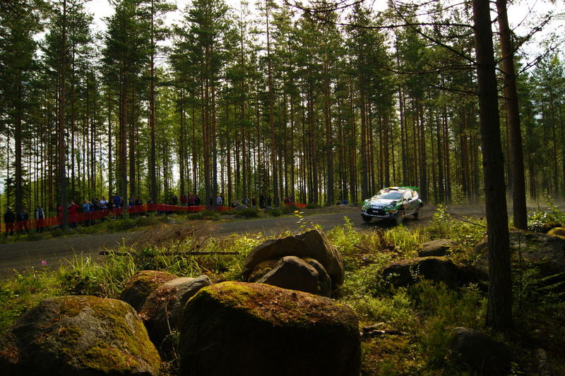 Finland Ford Ford Fiesta Wrc Forest Rally Scandinavia World Rally Car World Rally Championship Wrc