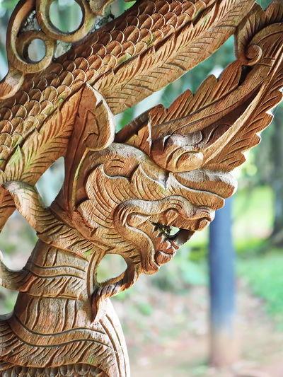 Close-Up Of Sculpture