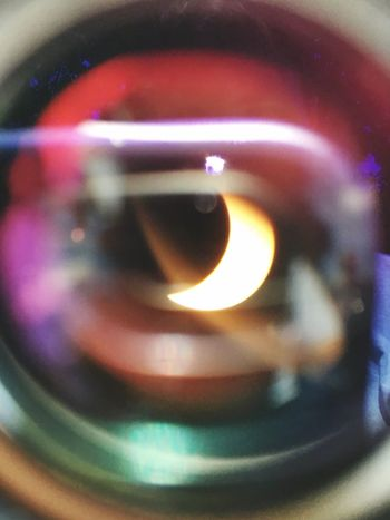 PhonePhotography Eclipse 2017 Eclipse Close-up Indoors  Selective Focus No People Camera - Photographic Equipment Technology Photography Themes Day