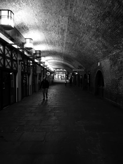 Underground London Blackandwhite Tunnel Lonely Lowlightphotography Showcase March