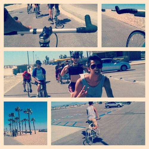 HB BIKE RIDE #fun #bikingadventure #bikes #fixedgearforlife #calisfinestfixies #fixedgear #fixie #bullhorns #specialized #SE #lealpha #leaderbikes #cottonon #beach #palmtrees #sprinbreak #good #awesomeness #sweetness Fixedgearforlife Bikeoc Beach Bikingadventure Fun Calisfinestfixies Bikes Leaderbikes Se Sprinbreak Fixie Good Awesomeness Palmtrees Fixedgear Sweetness Specialized Cottonon Lealpha Bullhorns