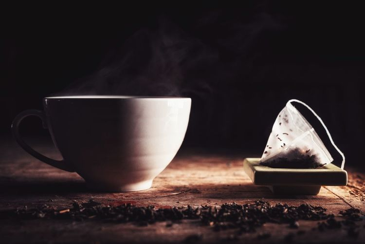 Tea Green Tea Smoke Food And Drink No People Table Food Close-up Drink Healthy Eating Freshness Indoors  Night Hot Beverage Beverage Hot Luxury High Quality Food Drinks