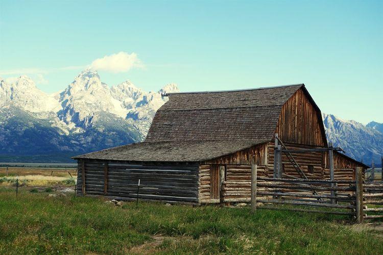 Grand Teton National Park  Barn Mormons