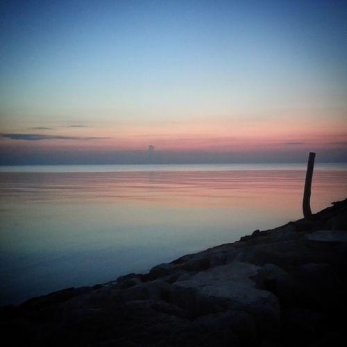 Found On The Roll Sea Sea And Sky Who is The orizon? Orizon Sky Sky_collection Sunrise Sunrise Silhouette Peace Sun Colors Colorful Summer EyeEm Best Shots EyeEm Best Shots - Sunsets + Sunrise EyeEm