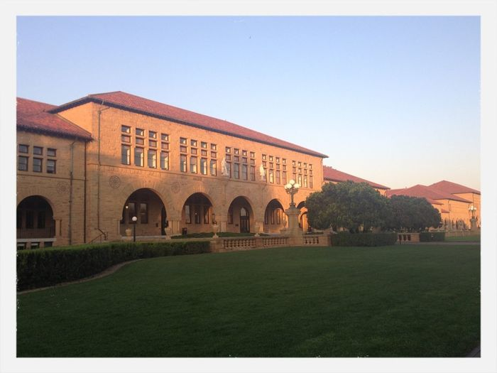 Early morning sun/run at Stanford campus