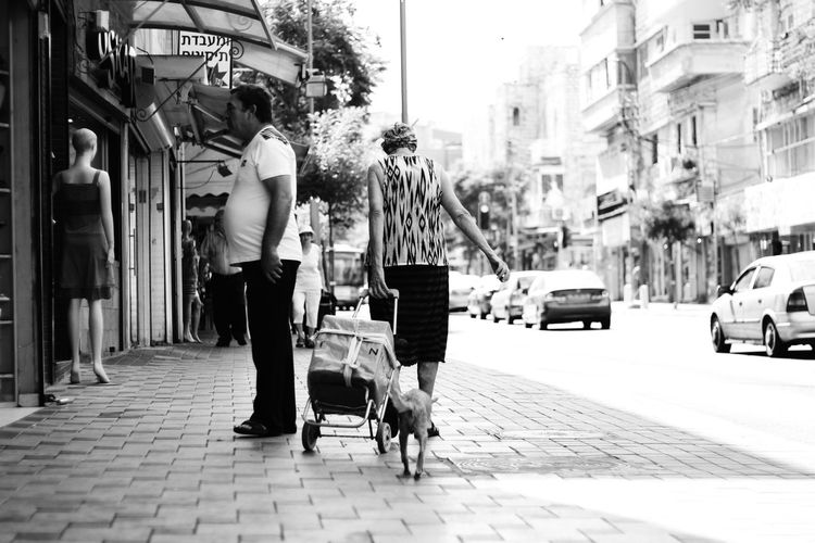 Live Love Shop Haifa Israel Market Woman Street People Shopping ♡ Street Photography Shop Black And White מייסטריט מייחיפה Adapted To The City