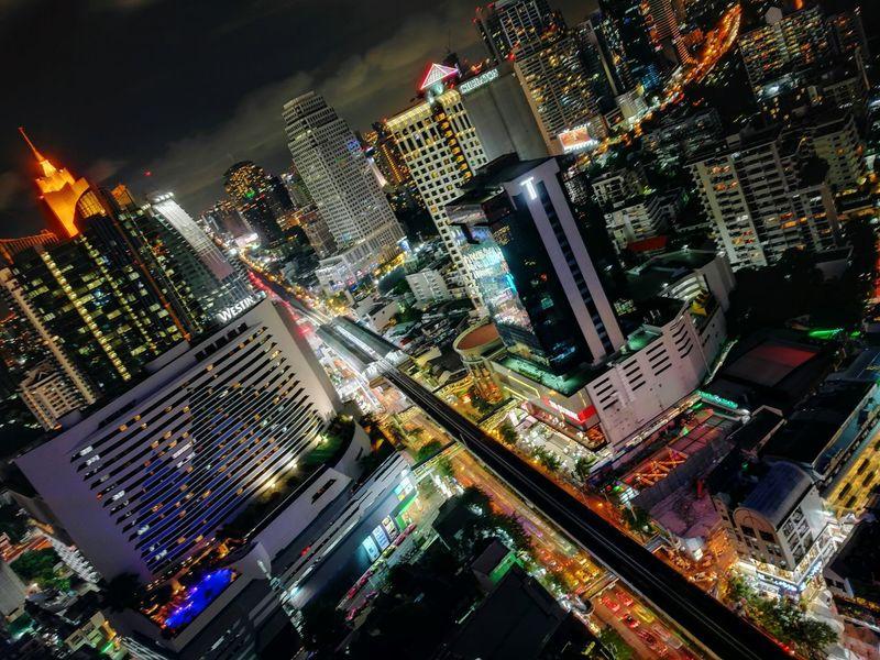 The color of Bangkok Night City Life First Eyeem Photo