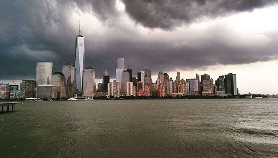 Rain Clouds on the NYC Skyline - a View from Exchangeplace Jerseycity Nj Skyscraper Newyork Newyork_instagram Newyorkcity Exchangeplace Exchangeplacewaterfront Exchangeplacepier Cloudporn RainyDay Rain Citylandscape Cloudovernyc Ig_captures Ig_shotz_november