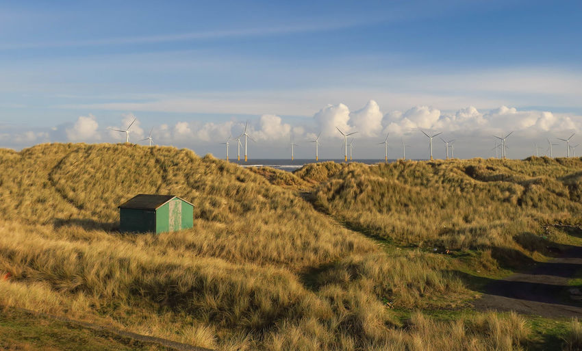Hut Landscape Landscape_Collection Landscape_photography Eye4photography  Clouds And Sky Cloudporn Sky Skyporn Sky_collection Sky And Clouds Dunes EyeEm Best Shots Eyeemphotography Windfarm Sea Sea And Sky Seascape Water Water_collection