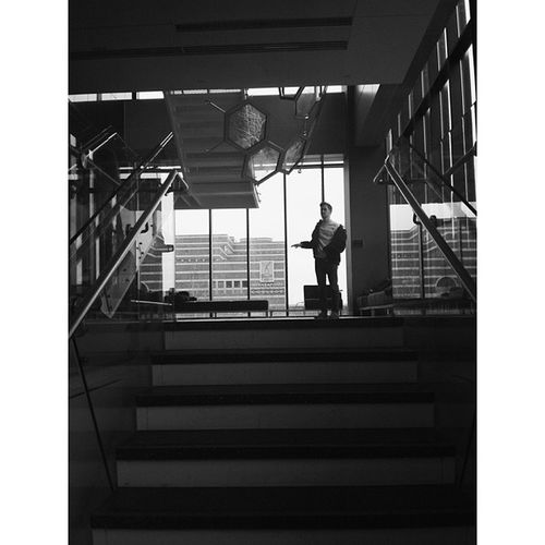 Why is the science building so much prettier than the photo department. Vscocam Mctc Photostudent Minneapolis blackandwhite