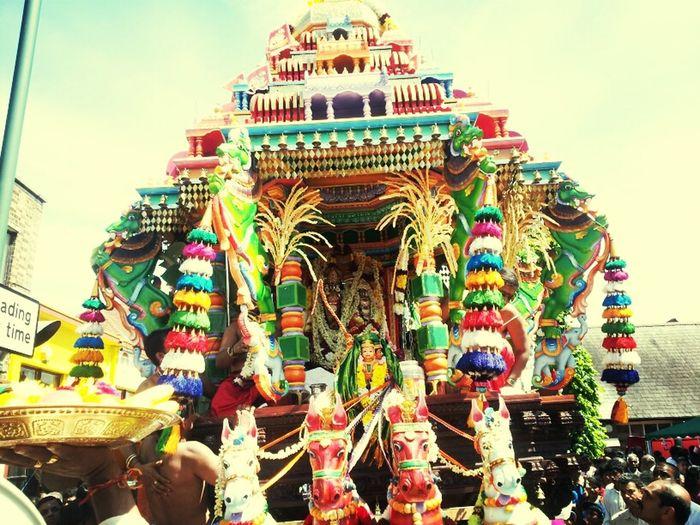 Shiva Temple Chariot festival