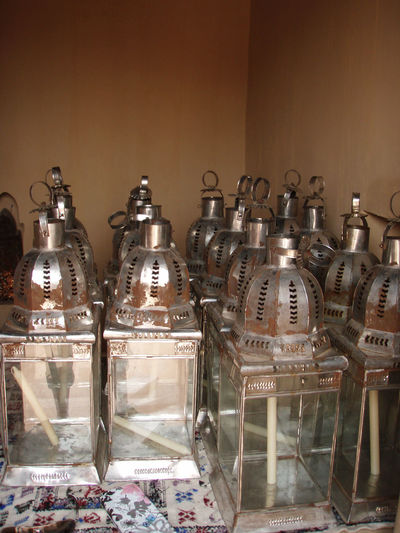Adventure Africa Buy Container Glass Lanterns Marrakech Medina Metal Morocco Objects Reflection Shadows Shop Still Life Travel